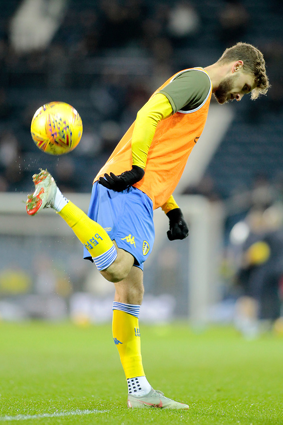 Leeds United's Mateusz Klich during the pre-match warm-up <br /> <br /> Photographer David Shipman/CameraSport<br /> <br /> The EFL Sky Bet Championship - West Bromwich Albion v Leeds United - Saturday 10th November 2018 - The Hawthorns - West Bromwich<br /> <br /> World Copyright © 2018 CameraSport. All rights reserved. 43 Linden Ave. Countesthorpe. Leicester. England. LE8 5PG - Tel: +44 (0) 116 277 4147 - admin@camerasport.com - www.camerasport.com