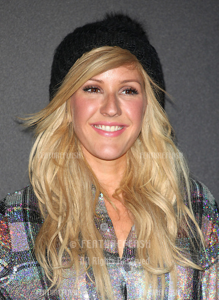 Ellie Goulding arriving for the World Premiere Of The New MINI at The Old Sorting Office, London. 18/11/2013 Picture by: Alexandra Glen / Featureflash