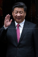 21.10.2015 - The President of China Xi Jinping at 10 Downing Street