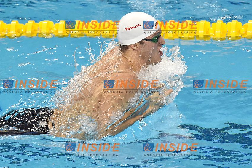 Markus Deibler Germany Men's 100m Individual Medley <br /> Doha Qatar 06-12-2014 Hamad Aquatic Centre, 12th FINA World Swimming Championships (25m). Nuoto Campionati mondiali di nuoto in vasca corta.<br /> Photo Andrea Staccioli/Deepbluemedia/Insidefoto