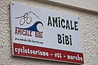 Europe/France/Aquitaine/64/Pyrénées-Atlantique/Pays Basque: Enseigne  de l'Amicale du  Quartier Bibi Beaurivage [Non destiné à un usage publicitaire - Not intended for an advertising use]