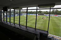 General view of the ground from the media centre ahead of Glamorgan vs Essex Eagles, Vitality Blast T20 Cricket at the Sophia Gardens Cardiff on 7th August 2018