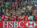 United States vs Samoa during the Cathay Pacific / HSBC Hong Kong Sevens at the Hong Kong Stadium on 28 March 2014 in Hong Kong, China. Photo by Victor Fraile / Power Sport Images