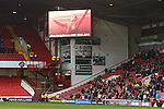 Alan Hodgkinson MBE is remembered on the big screen - Sheffield United vs Coventry City - SkyBet League One - Bramall Lane - Sheffield - 13/12/2015 Pic Philip Oldham/SportImage