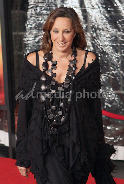 24 November 2008- New York, NY- Donna Karen arriving to the New York Premiere of Australia.<br /> Photo Credit: Paul Zimmerman/AdMedia