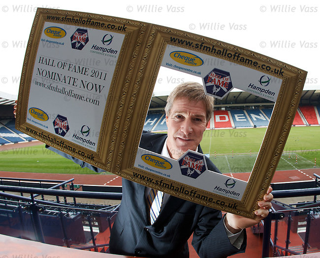 Richard Gough starts the hunt for the 2011 Scottish Football Hall of Fame nominations