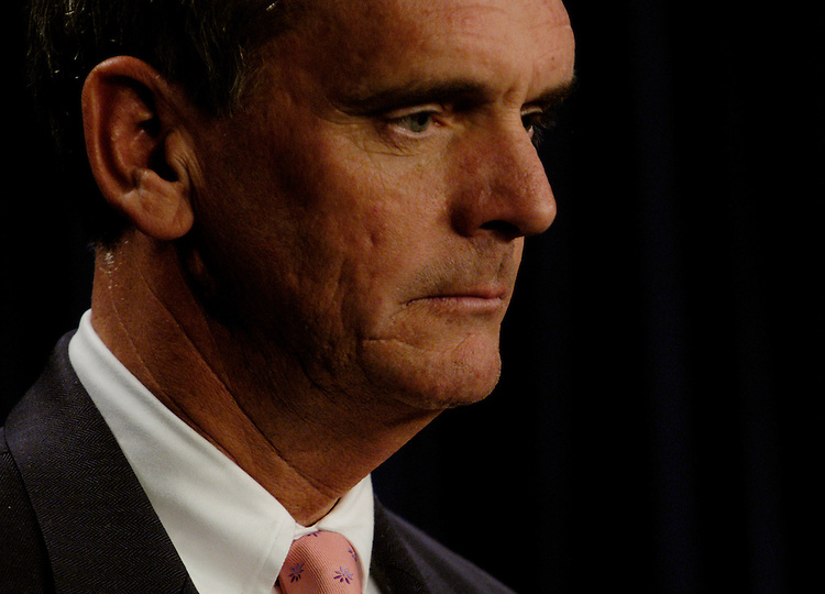 Sen. Judd Gregg, R-NH, announced he would taking the chairmanship of budget committee.