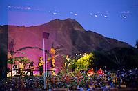 Oahu, Waikiki Shell -Sunset Concert, Hawaiian singers