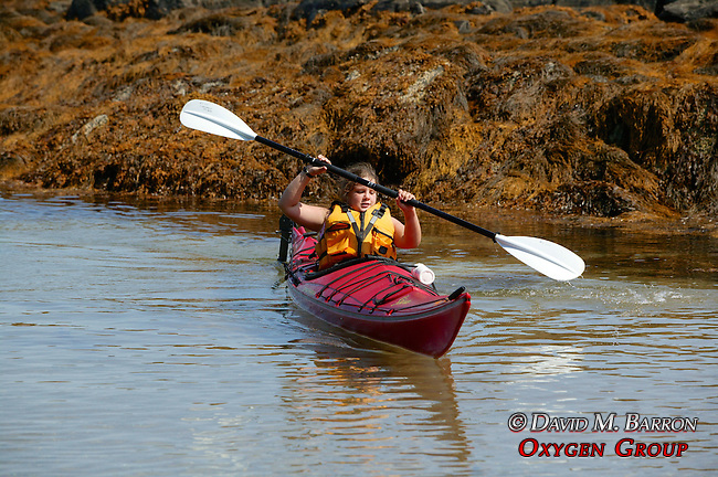 Tia Sherburne Kayaking