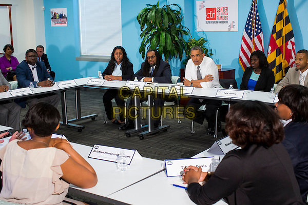 Barack Obama.United States President Barack Obama visits the Center for Urban Families in Baltimore, Maryland on Friday, May 17, 2013. .CAP/ADM/CNP/KT.©Kristoffer Tripplaar/CNP/AdMedia/Capital Pictures
