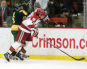 Andrew Himelson (Clarkson - 26), Tommy O'Regan (Harvard - 13) - The Harvard University Crimson defeated the visiting Clarkson University Golden Knights 3-2 on Harvard's senior night on Saturday, February 25, 2012, at Bright Hockey Center in Cambridge, Massachusetts.