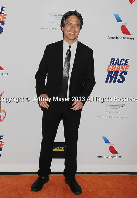CENTURY CITY, CA- MAY 03: Actor Ray Romano arrives at the 20th Annual Race To Erase MS Gala 'Love To Erase MS' at the Hyatt Regency Century Plaza on May 3, 2013 in Century City, California.