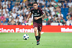 A.C. Milan Davide Calabria during Santiago Bernabeu Trophy match at Santiago Bernabeu Stadium in Madrid, Spain. August 11, 2018. (ALTERPHOTOS/Borja B.Hojas)