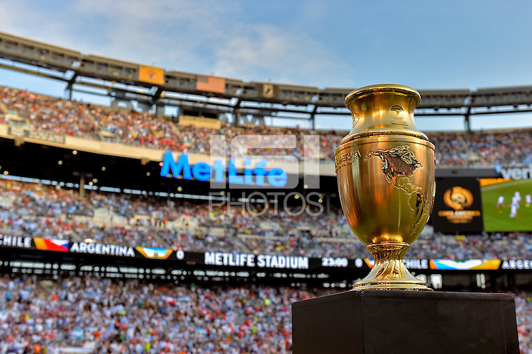 East Rutherford, NJ - Sunday June 26, 2016: Copa America prior to a Copa America Centenario finals match between Argentina (ARG) and Chile (CHI) at MetLife Stadium.