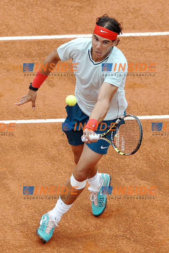 Rafael Nadal.Roma 16/05/2013 Foro Italico .Tennis Internazionali d'Italia 2013 .Foto Antonietta Baldassarre Insidefoto