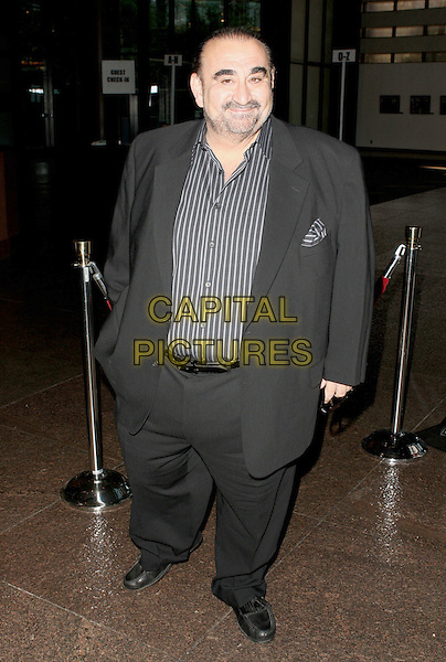 """KEN DAVATIAN.Warner Home Video Celebrates the """"Dirty Harry"""" film franchise with a special screening and reception held at the Directors Guild of America,.Hollywood, California, USA,.29 May 2008..full length suit beard striped black shirt.CAP/ADM/`CH.©Charles Harris/Admedia/Capital PIctures"""