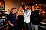 Guests with Robin Coleman and William Romeo.Marvel Artworks Party.Every Picture Tells A Story Gallery.Santa Monica, California.29 July 2009.Photo by Nina Prommer/Milestone Photo