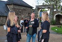 Arena Loire,  Trélazé,  France, 14 April, 2016, Semifinal FedCup, France-Netherlands, Official Diner,  team arrives<br /> Photo: Henk Koster/Tennisimages