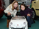 Aoife and Aideen O'Rourke at the Drogheda Motor Show...(Photo credit should read Jenny Matthews www.newsfile.ie)....This Picture has been sent you under the condtions enclosed by:.Newsfile Ltd..The Studio,.Millmount Abbey,.Drogheda,.Co Meath..Ireland..Tel: +353(0)41-9871240.Fax: +353(0)41-9871260.GSM: +353(0)86-2500958.email: pictures@newsfile.ie.www.newsfile.ie.