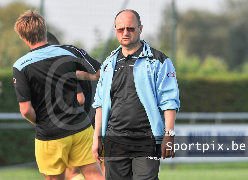VV Tielt : Luc Deserranno.foto VDB / BART VANDENBROUCKE