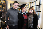 21/11/2014  Attending the Irish College of Humanities and Applied Science Conferrings in The Castletroy Park Hotel were Sinead McGuinness, who was conferred with a M.A in Cognitive Behaviour Therapy, with Shane and Sharon McGuinness, Wexford Town.<br /> Picture: Gareth Williams