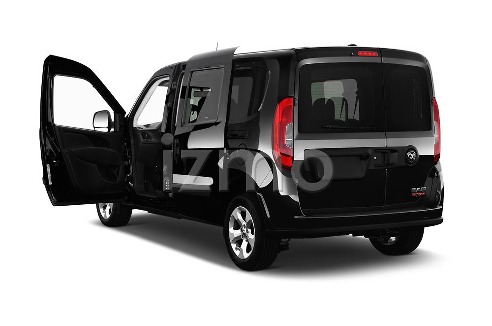 Car images close up view of a 2018 Ram Promaster City SLT Wagon 5 Door Mini Van doors