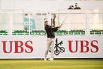 Jason Scrivener of Australia tees off the first hole during the 58th UBS Hong Kong Open as part of the European Tour on 08 December 2016, at the Hong Kong Golf Club, Fanling, Hong Kong, China. Photo by Marcio Rodrigo Machado / Power Sport Images