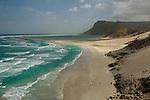 Lagon de Qalansiyah au nord ouest de l'île. Ile de Socotra. Yemen..Qalansiyah lagoon . North east coast. Socotra; Yemen