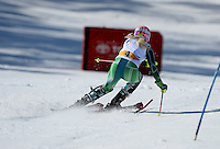 Jessica Gallagher  (AUS)<br /> Skiing - APC / Slalom<br /> IPC Alpine Skiing World Cup<br /> Thredbo Resort NSW<br /> Wednesday 4th September 2013<br /> © Sport the library / Jeff Crow