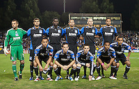 San Jose Earthquakes Starting Eleven. The New York Red Bulls defeated the San Jose Earthquakes 1-0 at Buck Shaw Stadium in Santa Clara, California on October 30th, 2010.