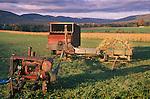 Old Amish combining belt system near Elimsport, PA. 1993