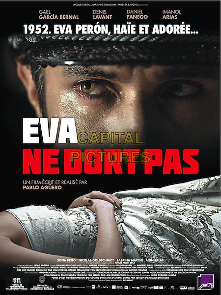 Eva Doesn't Sleep (2015)<br /> (Eva no duerme)<br /> FRENCH POSTER ART<br /> *Filmstill - Editorial Use Only*<br /> FSN-B<br /> Image supplied by FilmStills.net