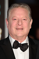 Al Gore arriving for the BAFTA Film Awards 2018 at the Royal Albert Hall, London, UK. <br /> 18 February  2018<br /> Picture: Steve Vas/Featureflash/SilverHub 0208 004 5359 sales@silverhubmedia.com
