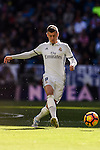 Toni Kroos of Real Madrid in action during their La Liga match between Real Madrid and Deportivo Leganes at the Estadio Santiago Bernabéu on 06 November 2016 in Madrid, Spain. Photo by Diego Gonzalez Souto / Power Sport Images