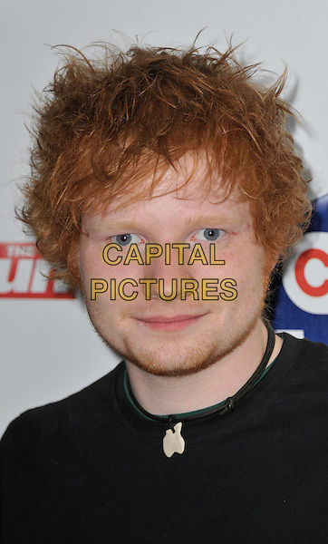 Ed Sheeran.The Capital Radio FM Summertime Ball, Wembley National Stadium, Wembley, London, England..9th June 2012..arrivals headshot portrait black necklace .CAP/WIZ.© Wizard/Capital Pictures.