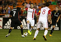 Washington,D.C. - Saturday, September 23 2017: D.C United defeated the San Jose Earthquakes 4-0 in a MLS match at RFK Stadium..