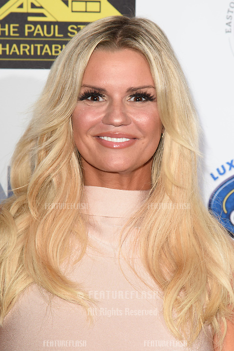 LONDON, UK. September 22, 2018: Kerry Katona at the Paul Strank Charitable Trust Annual Gala at the Bank of England Club, London.<br /> Picture: Steve Vas/Featureflash