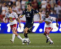 Gareth Bale, Dane Richards. Tottenham defeated the New York Red Bulls, 2-1.