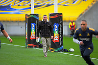 Highlanders coach Aaron Mauger during the Super Rugby Aotearoa match between the Hurricanes and Highlanders at Sky Stadium in Wellington, New Zealand on Sunday, 12 July 2020. Photo: Dave Lintott / lintottphoto.co.nz