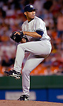 16 June 2006: Mariano Rivera, pitcher for the New York Yankees, in action against the Washington Nationals at RFK Stadium, in Washington, DC. The Yankees defeated the Nationals 7-5 in the first meeting of the two franchises...Mandatory Photo Credit: Ed Wolfstein Photo...