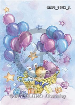 Ron, BABIES, paintings(GBSG8363/A,#B#) bébé, illustrations, pinturas ,everyday