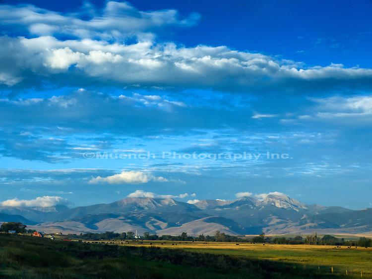 Ranchland,Tobacco Root Range,Montana