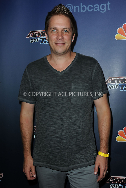 WWW.ACEPIXS.COM<br /> September 4, 2014 New York City<br /> <br /> Mike Super attending the 'America's Got Talent' post show red carpet at Radio City Music Hall in New York City on September 4, 2014.<br /> <br /> By Line: Kristin Callahan/ACE Pictures<br /> ACE Pictures, Inc.<br /> tel: 646 769 0430<br /> Email: info@acepixs.com<br /> www.acepixs.com<br /> Copyright:<br /> Kristin Callahan/ACE Pictures