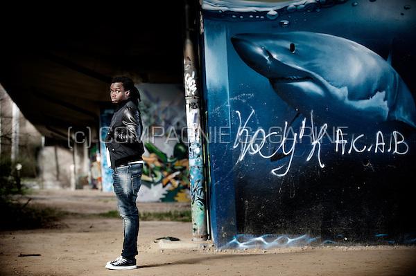 Belgian football player Jordan Lukaku Bolingoli (Belgium, 26/02/2014)