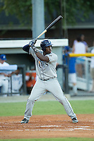 Blake Grant-Parks (24) of the Princeton Rays at bat against the Burlington Royals at Burlington Athletic Stadium on August 12, 2016 in Burlington, North Carolina.  The Royals defeated the Rays 9-5.  (Brian Westerholt/Four Seam Images)