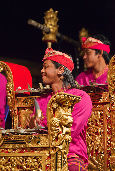 The Cenik Wayah GAMELAN INSTUMENTAL is performed at PURA TAMAN SARASWATI - UBUD, BALI, INDONESIA