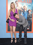 Dave Faustino and wife attends The Warner Bros. Pictures' L.A. Premiere of Vacation held at The Regency Village Theatre  in Westwood, California on July 27,2015                                                                               © 2015 Hollywood Press Agency