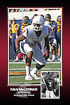 Memorabilia print for Ivan McLennan from the 2015 Washington State football season in which the Cougs went 9-4, including a Sun Bowl victory over the Miami Hurricanes.
