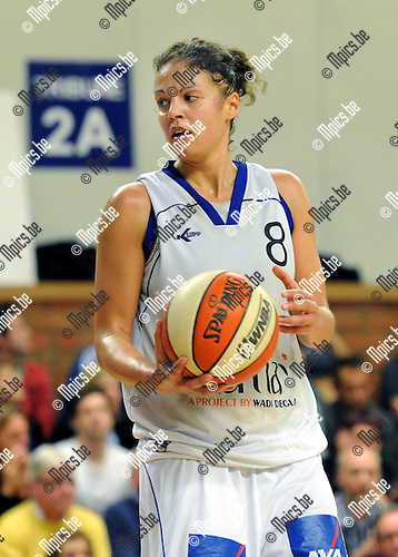 2012-04-25 / Basketbal / seizoen 2011-2012 / Kangoeroes Boom - Ieper / Sofie Hendrickx..Foto: Mpics.be