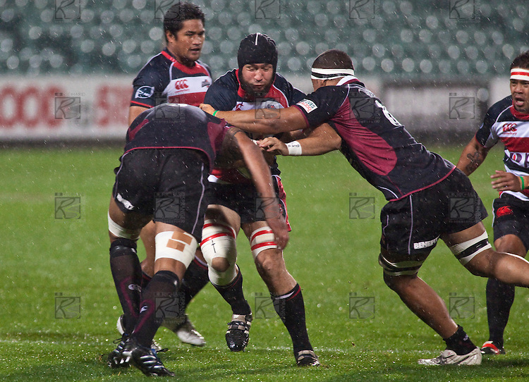Air New Zealand Cup Rugby game between Counties Manukau & North Harbour played at North Harbour Stadium on Friday September 25th 2009. Even though they only had 14 players on the field for three quarters of the game, North Harbour won 28 - 19.